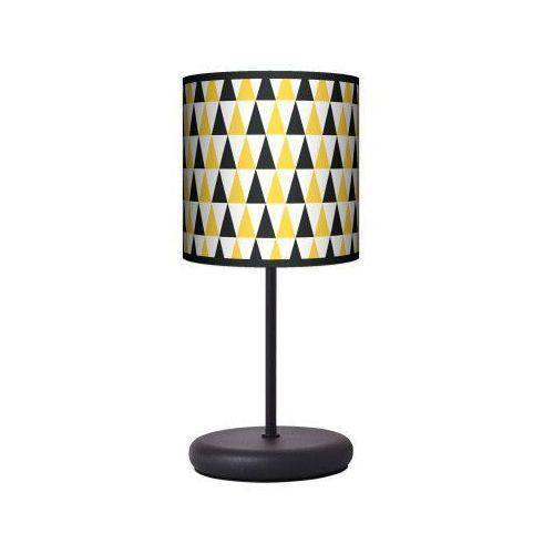 Lampa stojąca eko - black & yellow marki Fotolampy