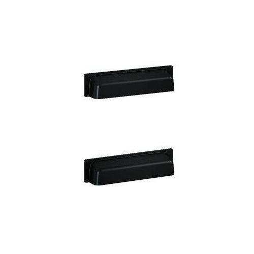 Elita uchwyty inge new metalowe, black, do słupka, 2 sztuki 167193