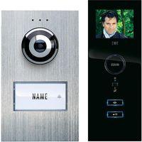 Domofon m-e modern-electronics, Kompletny zestaw, Interkom drzwiowy, Dom jednorodzinny (2050002397941)