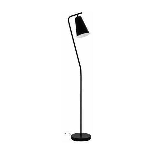 Eglo Rekalde 98574 lampa stojąca podłogowa 1x40W E27 czarna/biała, kolor Czarny