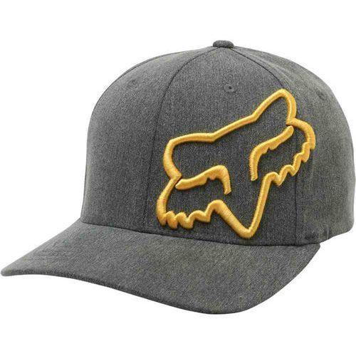czapka z daszkiem FOX - Clouded Flexfit Heather Black (243) rozmiar: L/XL