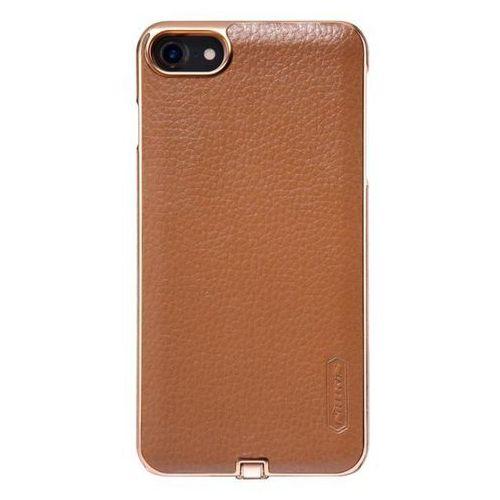 Etui indukcyjne z cewką Qi Nilkin N-Jarl do iPhone 7 brąz - brąz (6902048130968)