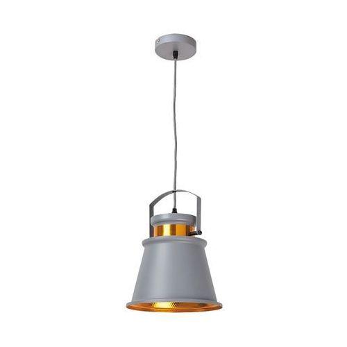 Rabalux Lampa wisząca zwis oprawa dusan 1x40w e27 szary 2574 (5998250325743)