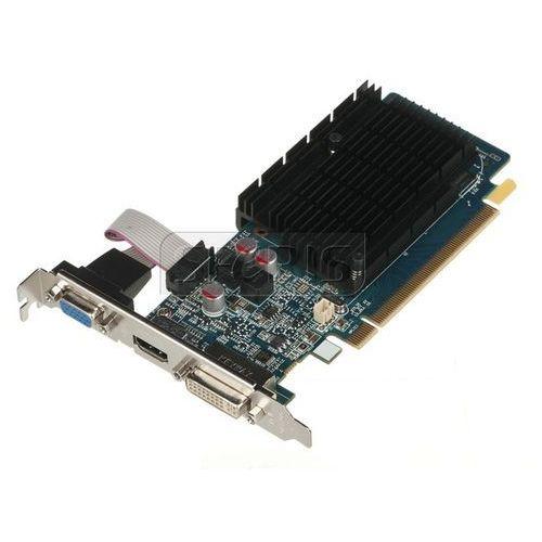 Karta graficzna  radeon hd5450 1024mb ddr3/64b d/h pci-e - 11166-32-20g wyprodukowany przez Sapphire