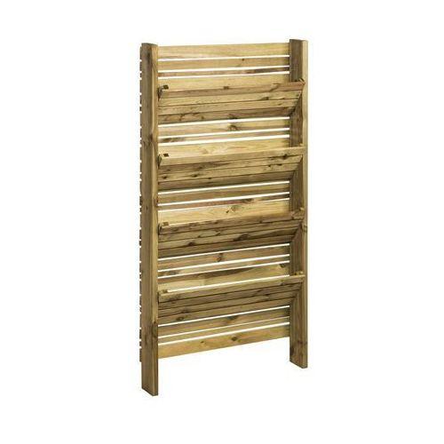 Werth-holz Warzywnik pionowy 90 x 180 x 15 cm drewniany eliza (5902860163053)