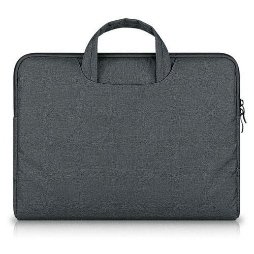 Torba  briefcase apple macbook air / pro 13 szary - szary marki Tech-protect