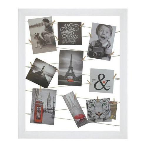 Galeria na zdjęcia 40 x 50 cm sznurkowa biała, GALERIA174 SZ
