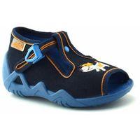 Kapcie dla dzieci Befado 217P15, kolor niebieski