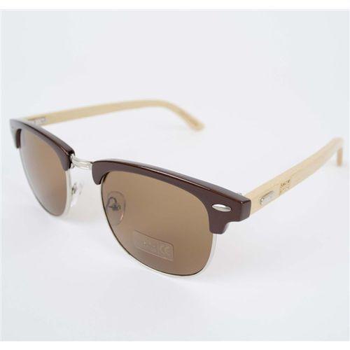 okulary słoneczne SNOWBITCH - Coffee frame bamboo arms with Brown lens 28 (COFFEE) rozmiar: OS, kolor brązowy
