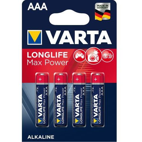 Baterie AAA LR03 VARTA Max Tech (4 szt.) (4008496104734)