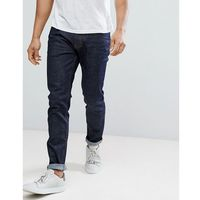Burton menswear tapered jeans in dark wash - navy