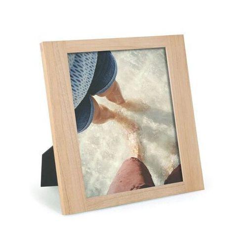 - ramka na zdjęcia simple 8 x 10 - naturalne drewno marki Umbra