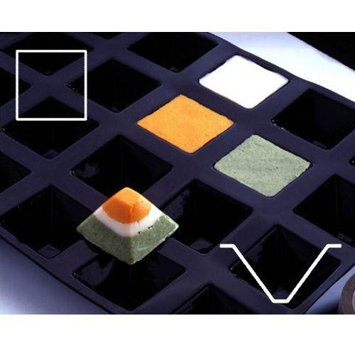Mata silikonowa GN 1/2, 30 x piramida 35x35x25 mm | CONTACTO, 6688/035