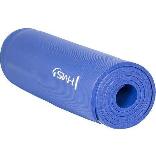 Hms Mata do ćwiczeń yogi 10mm - niebieski