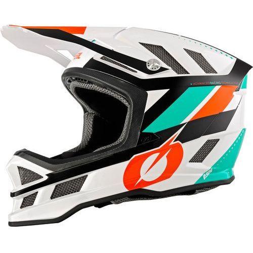 Oneal blade kask rowerowy pomarańczowy/biały l | 59-60cm 2019 kaski rowerowe