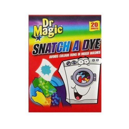Pozostali Dr magic snatch a dye chusteczki wyłapujące kolor 20 szt (5060120161024)