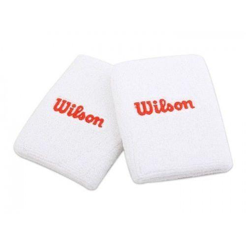 Frotki na nadgarstek Wilson Team białe 2 sztuki
