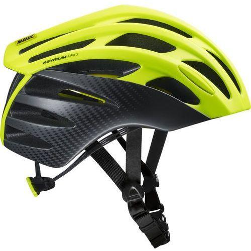 Mavic Ksyrium Pro MIPS Kask rowerowy Mężczyźni żółty/czarny S   51-56cm 2018 Kaski szosowe