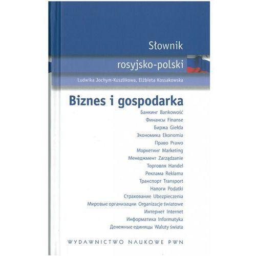 Słownik Rosyjsko-Polski. Biznes i Gospodarka, książka w oprawie twardej