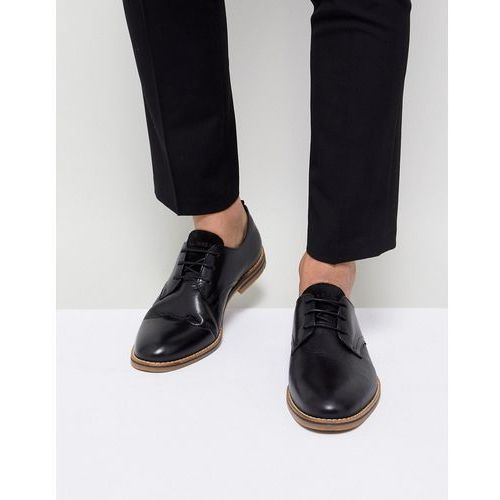 Jack & Jones Premium Shoes With Gum Sole - Black