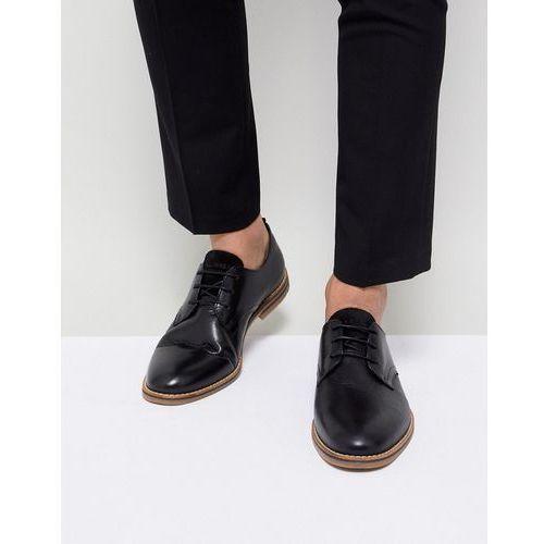 premium shoes with gum sole - black marki Jack & jones