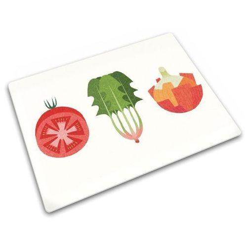 Deska do krojenia szklana warzywa sałatkowe odbierz rabat 5% na pierwsze zakupy marki Joseph joseph