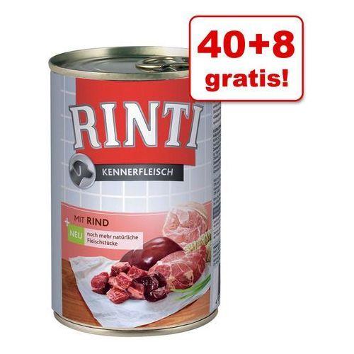 40 + 8 gratis! megapakiet pur, 48 x 400 g - cielęcina| wygraj iphona xs - tylko w tym tygodniu | dostawa gratis od 89 zł marki Rinti