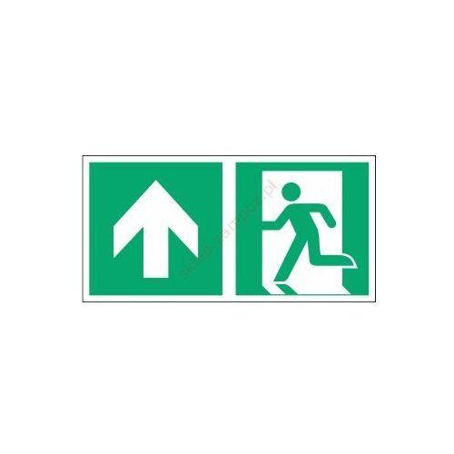 Techem Znak kierunek do wyjścia ewak. strz. w górę e01-gg
