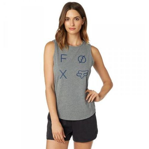 Fox_sale Fox koszulka lady bez rękawów staged heather graph