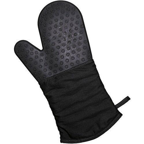 Rękawica kuchenna silikonowo-bawełniana Lurch czarna (LU-00070090), 00070090