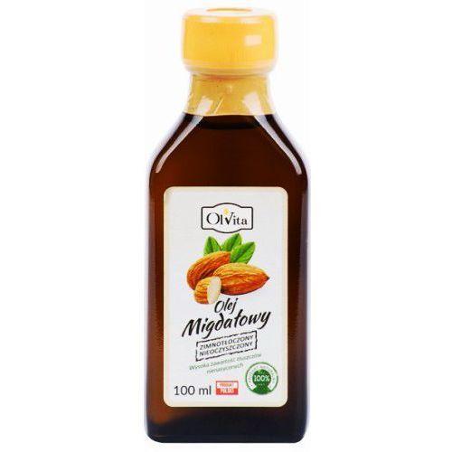 olej migdałowy tłoczony na zimno 100ml Olvita, 765