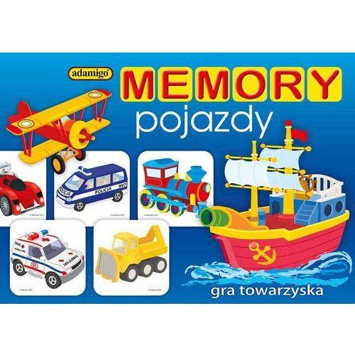 Gra  memory pojazdy marki Adamigo