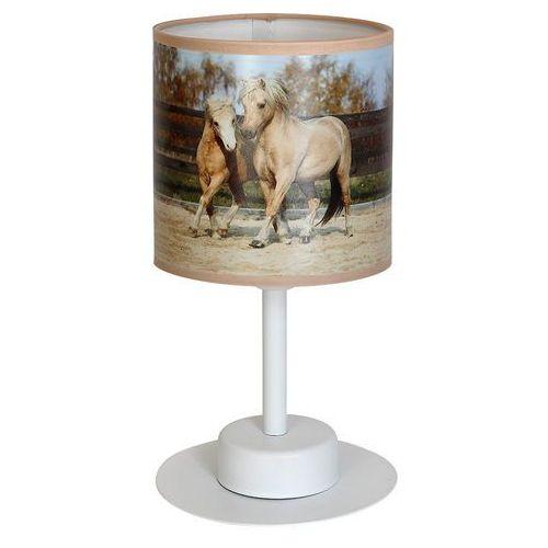 Eko-light 850 lampka nocna stołowa horses konie