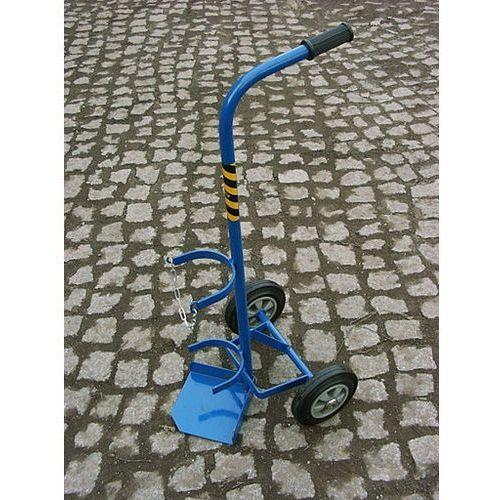 Wózek spawalniczy 1 butla 10 L kółka pełne, WS.1.10 GTS