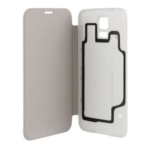 Xqisit Etui do samsung galaxy s5 battery door case biały