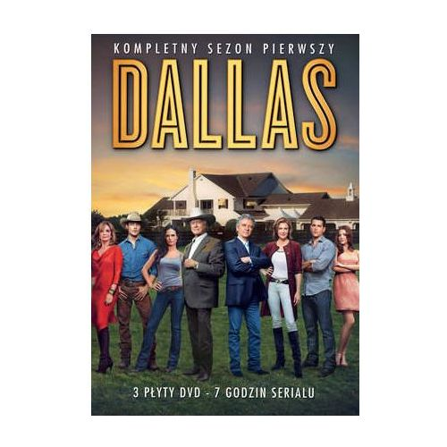 Galapagos Dallas, sezon 1 (3 dvd) (7321909326330) - OKAZJE
