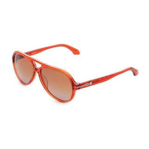 Okulary przeciwsłoneczne pilotki Calvin Klein - CK4191S, CK4191S_57_286_ORANGE