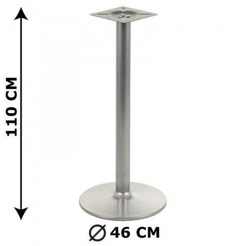 Podstawa stolika NY-B006, wysokość 110 cm, aluminium, NY-B006/46/110
