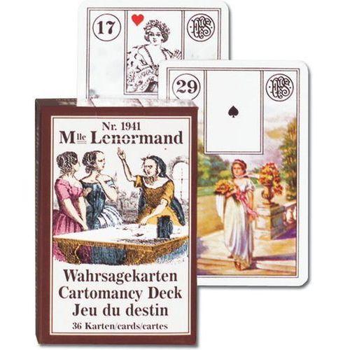 Piatnik Mlle lenormand karty do wróżenia (9001890194115)