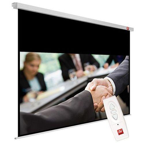 Avtek Ekran elektryczny 200x200cm business electric 200 - matt white (ramki 2,5cm + top 73,2cm, obraz 195x121,8 cm)