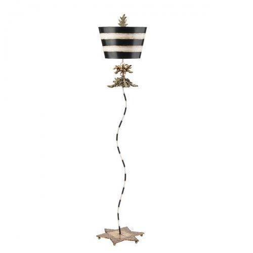 South Beach Floor Lamp Podłogowa Elstead FB/SOUTHBEACH/FL 173cm złoty-srebrny-czarny