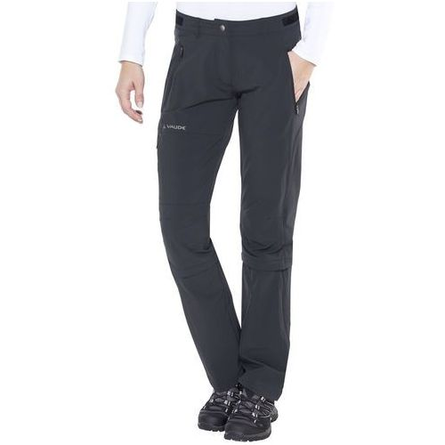 VAUDE Farley II Stretch Spodnie długie Kobiety czarny 36 2018 Spodnie z odpinanymi nogawkami, kolor czarny