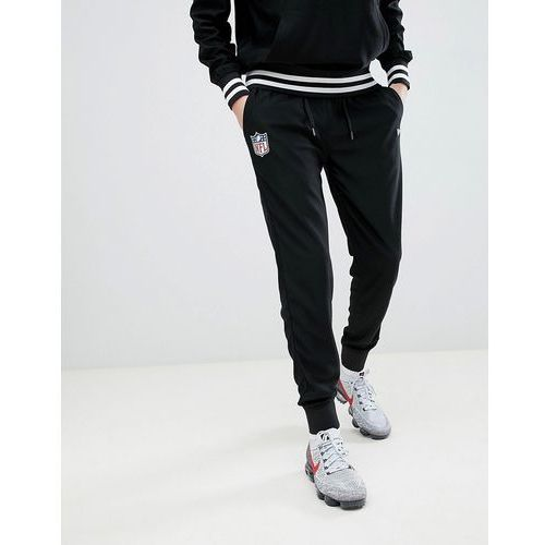 nfl dryera series jogger in black - black, New era, M-L