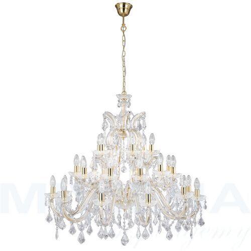 Marietherese lampa wisząca 30 złoty kryształ (5013874112538)