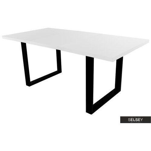 Selsey stół rozkładany lameca 160-210x90 cm biały (5903025377483)