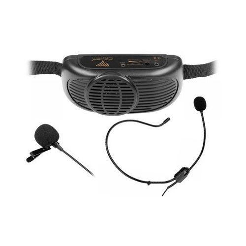 Przenośny zestaw nagłaśniający mikrofon MIK0041 (5901436719625)
