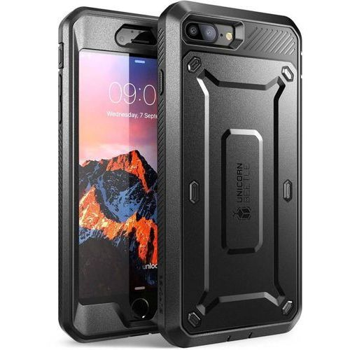Supcase  unicorn beetle pro black | obudowa dla modelu apple iphone 7 plus