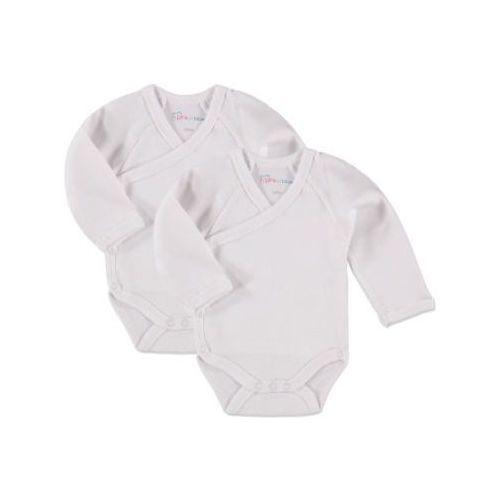 Pink or blue body dziecięce 2szt. kolor biały