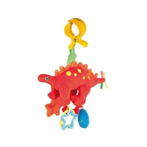 babies pluszowa zabawka wibracyjna dino, czerwona wyprodukowany przez Canpol