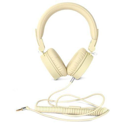 Słuchawki nauszne FRESH N REBEL Caps Buttercup Żółty